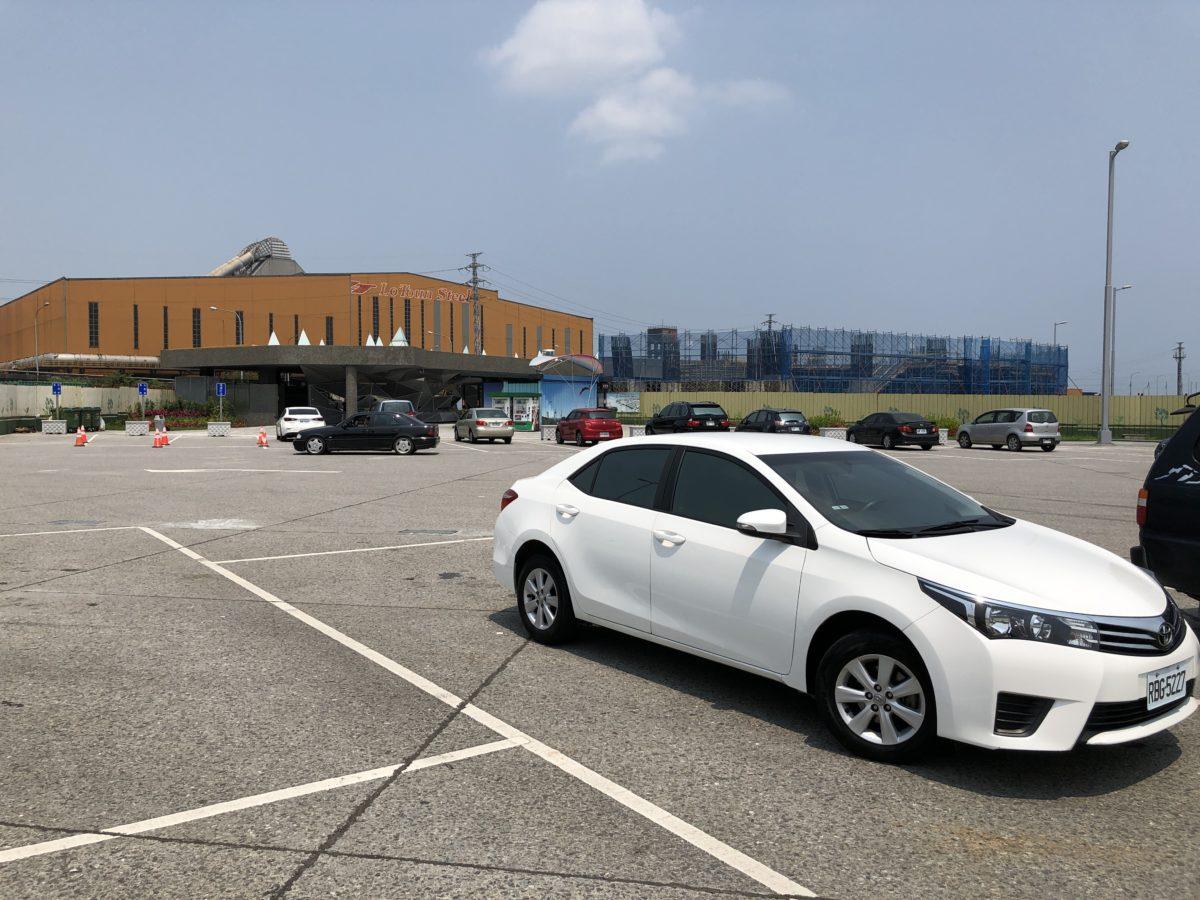 羅東的停車場